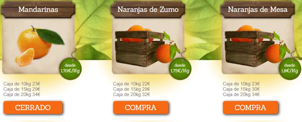 Naranjas online de Valencia 1
