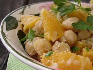 ensaladas con cítricos